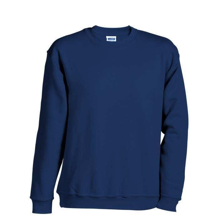 sweat shirt femme bleu marine