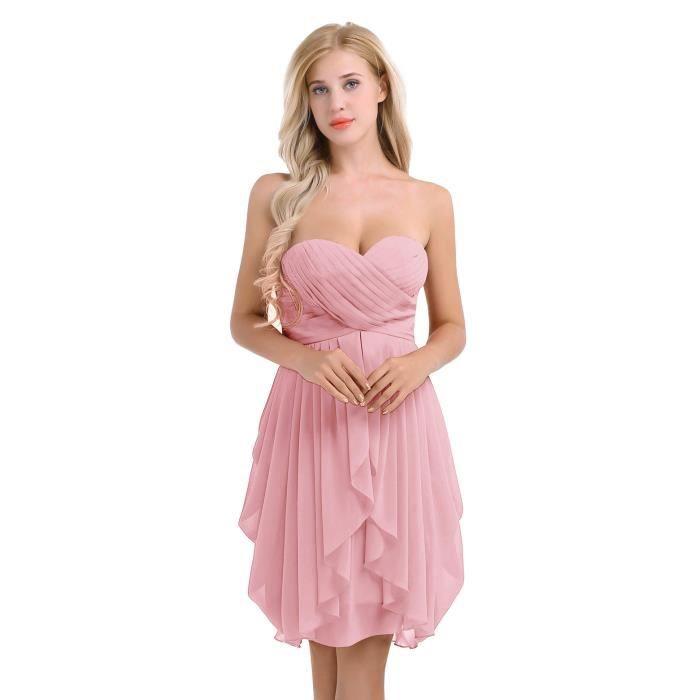 YIZYIF Robe de mariage Femme Adulte Robe