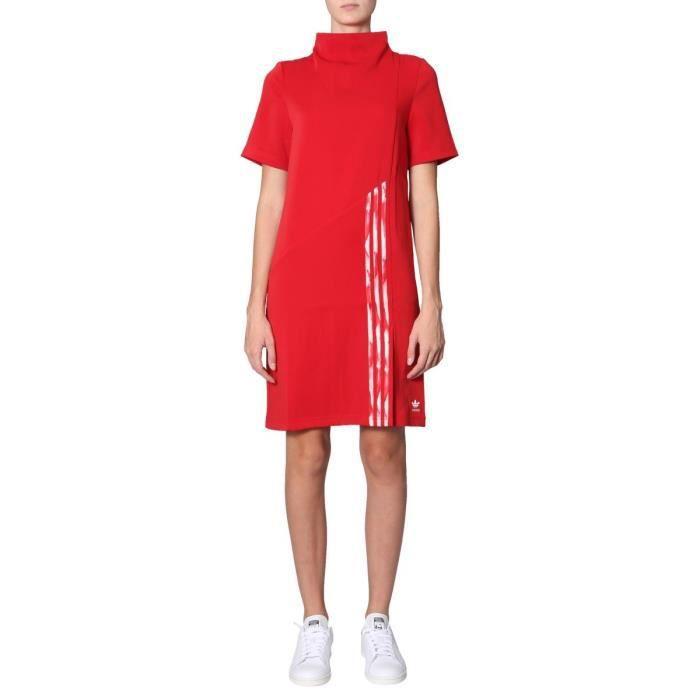 robe adidas femme rouge
