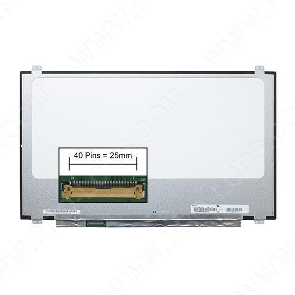 DALLE D'ÉCRAN Ecran dalle LCD LED pour MSI GS73VR 7RG-036CA 17.3
