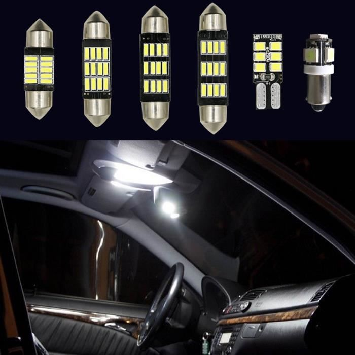 u 23pcs led lampe int rieur voiture d cor pour bmw x5 e53 2000 2006 achat vente ampoule. Black Bedroom Furniture Sets. Home Design Ideas