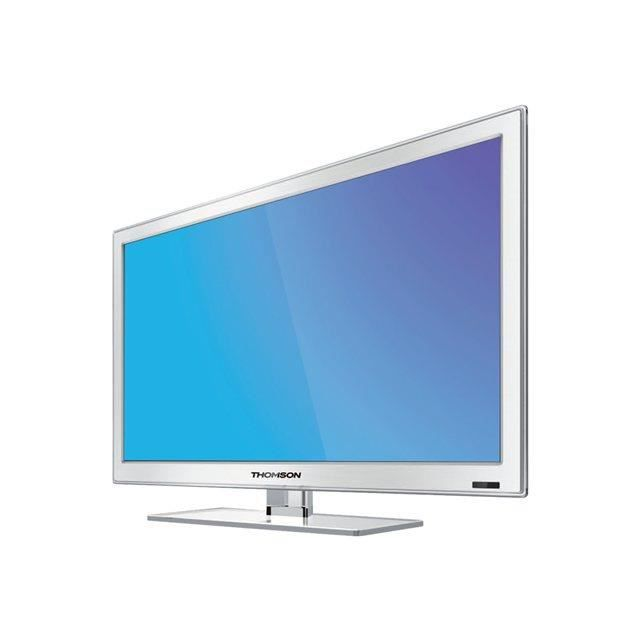 tv led thomson 28hw4323w white 100 hz cmi 70cm t l viseur lcd avis et prix pas cher. Black Bedroom Furniture Sets. Home Design Ideas