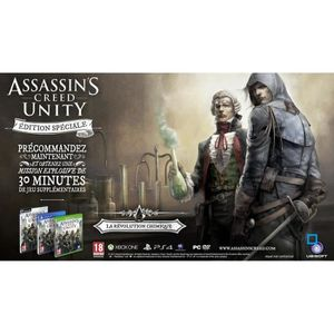 JEU XBOX ONE Assassin's Creed Unity Edition Spéciale XBOX One