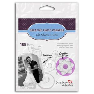 Scrapbook Adhesives? by 3 L Set de 108 coins photo en papier autocollant