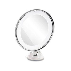 Spaire miroir de salle de bain 7X Mini miroir grossissant et de verrouillage ventouse
