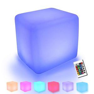 Tabouret Cube Led