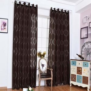 RIDEAU 2 pcs rideaux occultants 100x250 cm marron