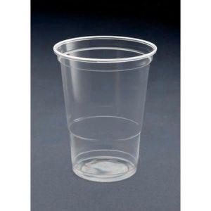VERRE JETABLE Gobelet plastique 50cl par 50