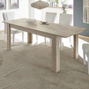 TABLE À MANGER SEULE Table à manger extensible contemporaine couleur ch