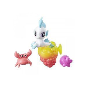 FIGURINE - PERSONNAGE My Little Pony bébé Seapony Crabe bébé