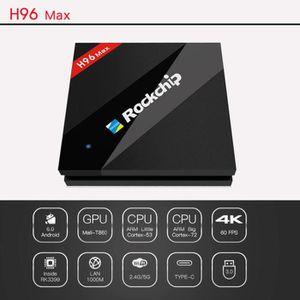 BOX MULTIMEDIA H96 Max TV Box Android 6.0 RK3399 6 core TV Box 2