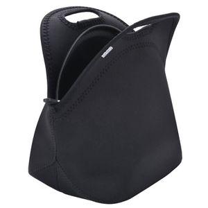1 pc Unisexe Isolation sac à Lunch Pliable Bento Boîte de rangement lavable Lunch Tote