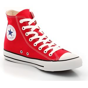 Converse All Star Hi -Baskets mo... Rouge Rouge - Achat ...