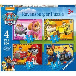 PUZZLE 4 puzzles Pat patrouille