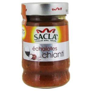 SAUCE CHAUDE Saclà Sauce Échalotes et Chianti