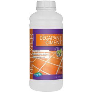 NETTOYAGE SOL Nettoyant décapant ciment - 1 L