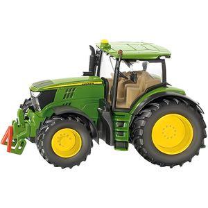 VOITURE - CAMION Siku - Tracteur John Deere 6210R 1/32ème en métal