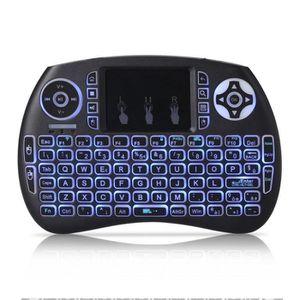 CLAVIER D'ORDINATEUR Mini portable sans fil QWERTY 2.4GHz clavier porta
