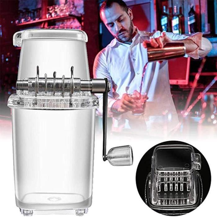 Machine À Glacons de Bar Cuisine 1.5L Machine à Glace Pilée Qualité Supérieure pour Broyeur à Glace et Machine à Cône à Neige