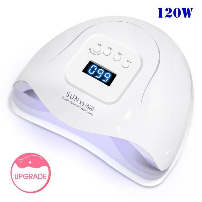 sèche-ongles -120W soleil 5X Plus UV lampe à LED sèche-ongles 45 pièces UV lampe pour ve...- Modèle: 54W SUN X5 PLUS - MIZJHGA02230