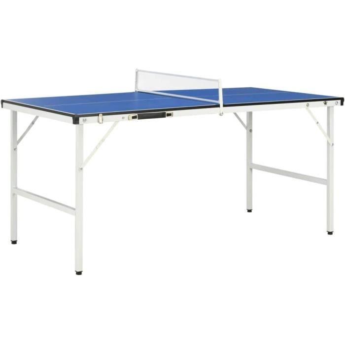 TABLE DE TENNIS DE TABLE Tennis Table de ping-pong pliable en bois MDF et acier, table de ping-pong professionnelle pliable av24