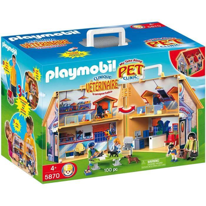 Jeux de construction Playmobil 5870 - Jeux de construction - Clinique Vétérinaire 51783