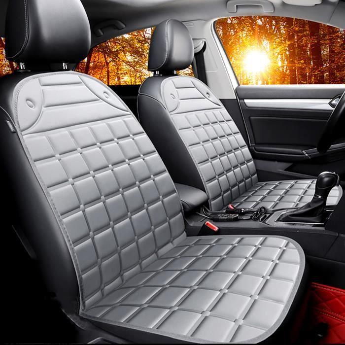 Housse de coussin de coussin de siège de voiture universel 12 V chauffage chauffage chaud hiver froid - Return 509