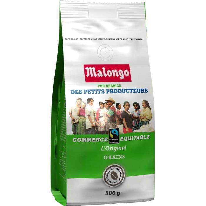 Cafe en Grains Arabica Des Petits Producteurs, 500g