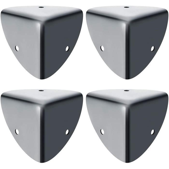 SAYAYO Protection Coin de Table Protection d'Angle en Métal Antirouille Protecteur et Décoration Antichoc de Sécurité pour Enf[26]