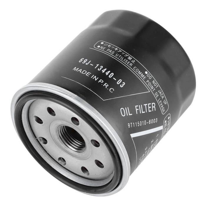 Drfeify 69J 13440‑03 Filtre à Huile Moteur 69J‑13440‑03 Convient pour Yamaha All 1.8 Liter FZR FZS FX‑SHO VXR VXS AR240
