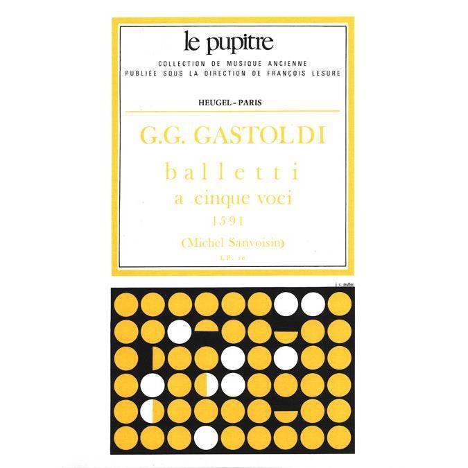 Balletti a cinque voci - 2 Sopranos, Haute-contre, Ténor, Basse - Partition