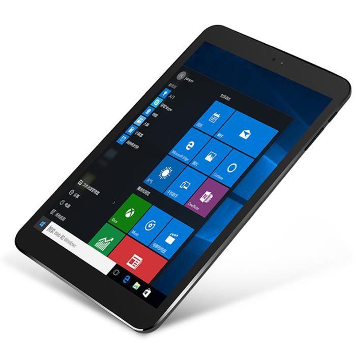 Tablette Tactile 8.3 Pouces 2Go + 32Go Windows 10 Hd 1920x1080 Wifi 4G 4500Mah Jezpad mini 4s Noir + Argent