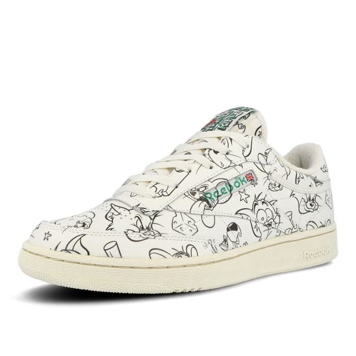 Basket Reebok Club C 85 Tom & Jerry enfant