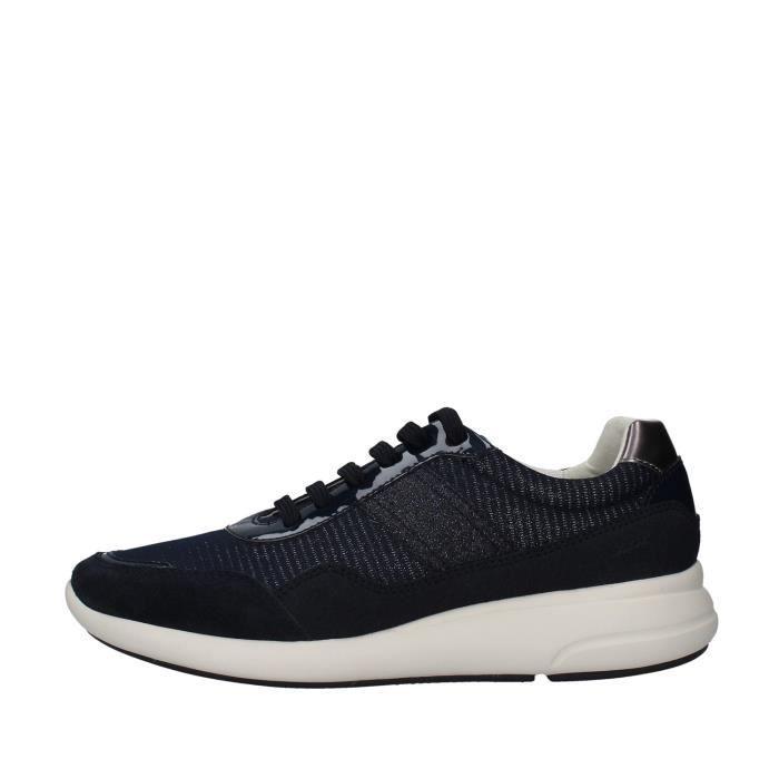 Geox D021CB0EWAF chaussures de tennis Femme BLEU MARINE