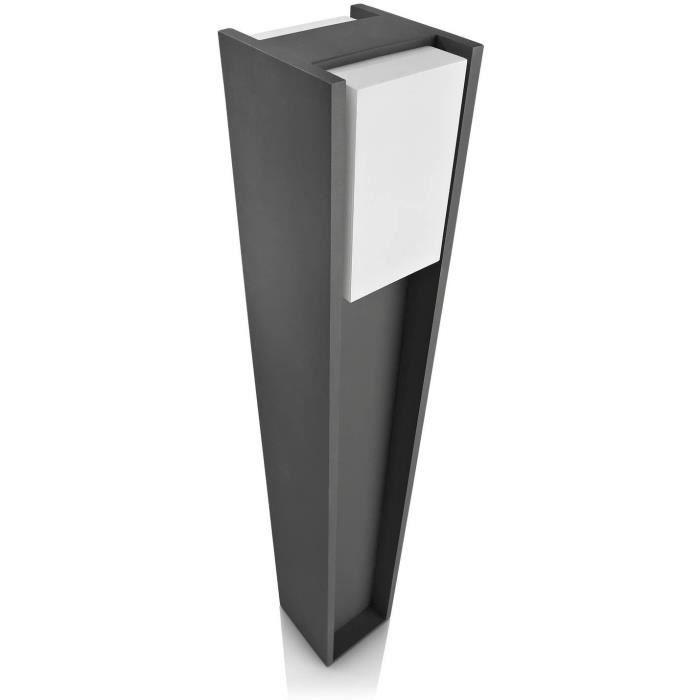 PHILIPS Bridge Lampe de jardin - Gris foncé - 1x14W - 230V