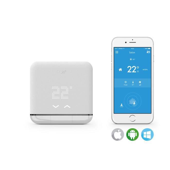 Thermostat intelligent pour climatiseur Tado