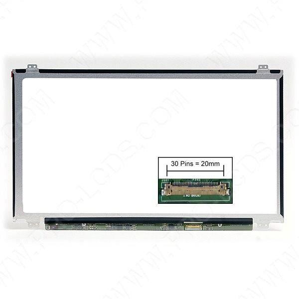 Dalle écran LCD LED type Toshiba PSKT4E-07M011G5 15.6 1920x1080 - Mate