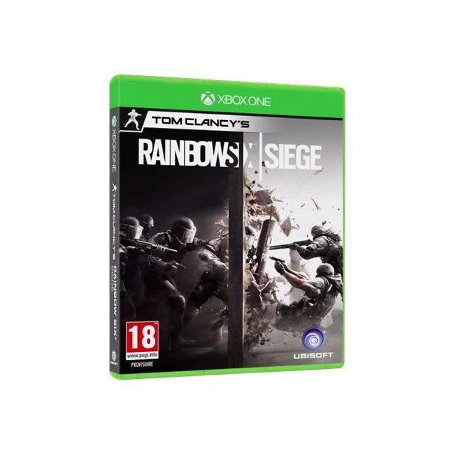 JEU XBOX ONE Tom Clancy's Rainbow Six Siege Xbox One