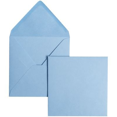 POLLEN Pqt de 20 Enveloppe 120g 110x220 bleu lavande