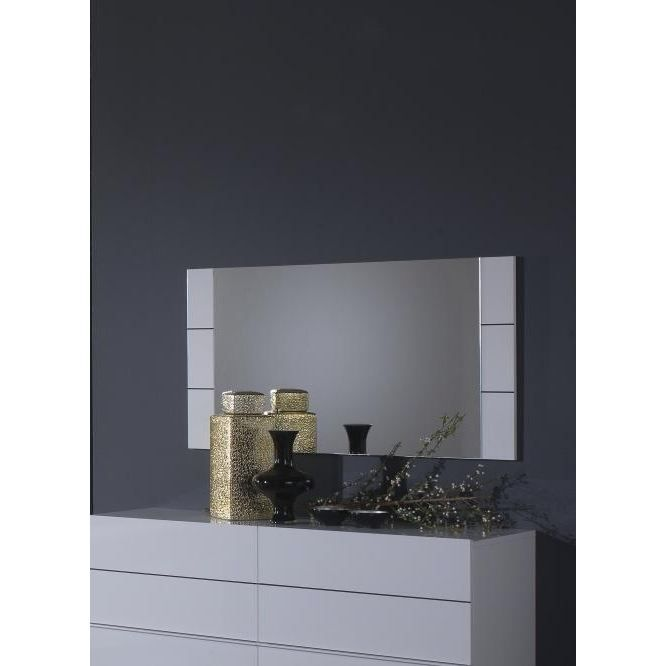 miroir rectangulaire gardian achat vente miroir cdiscount. Black Bedroom Furniture Sets. Home Design Ideas