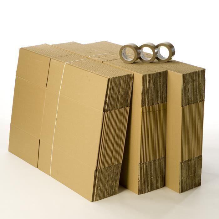 KIT DEMENAGEMENT Kit déménagement 60 cartons et 3 adhésifs gratuits