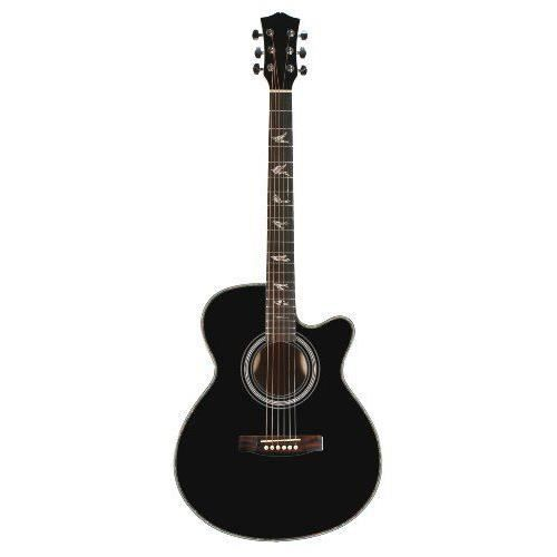 martin smith w 401e guitare lectro acoustique avec pan. Black Bedroom Furniture Sets. Home Design Ideas