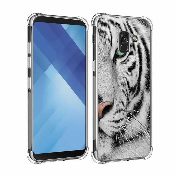 coque animaux samsung a8 2018