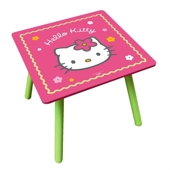 Hello kitty table cake ideas and designs for Table exterieur hello kitty