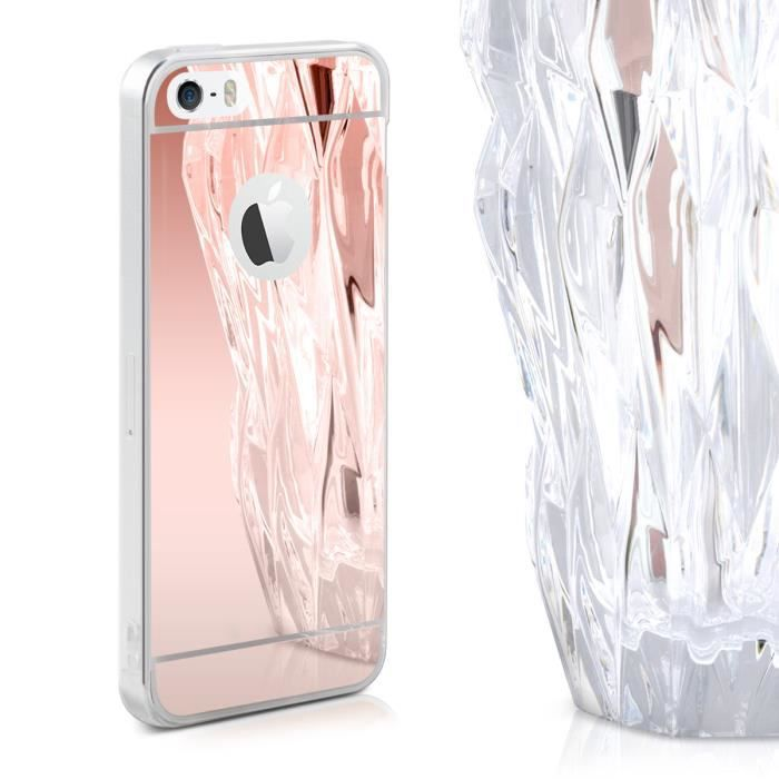 Kwmobile Coque Apple iPhone SE   5   5S - Coque pour Apple iPhone SE ... 1257dd19c58