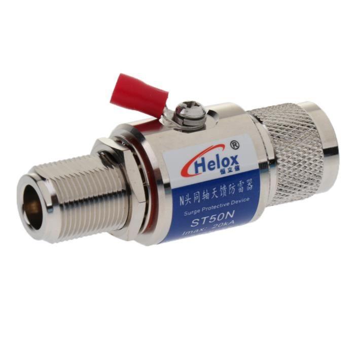 Axing SZU 6-01 Parasurtenseur Parafoudre pour le c/âble connecteurs IEC lantenne et les syst/èmes de satellites