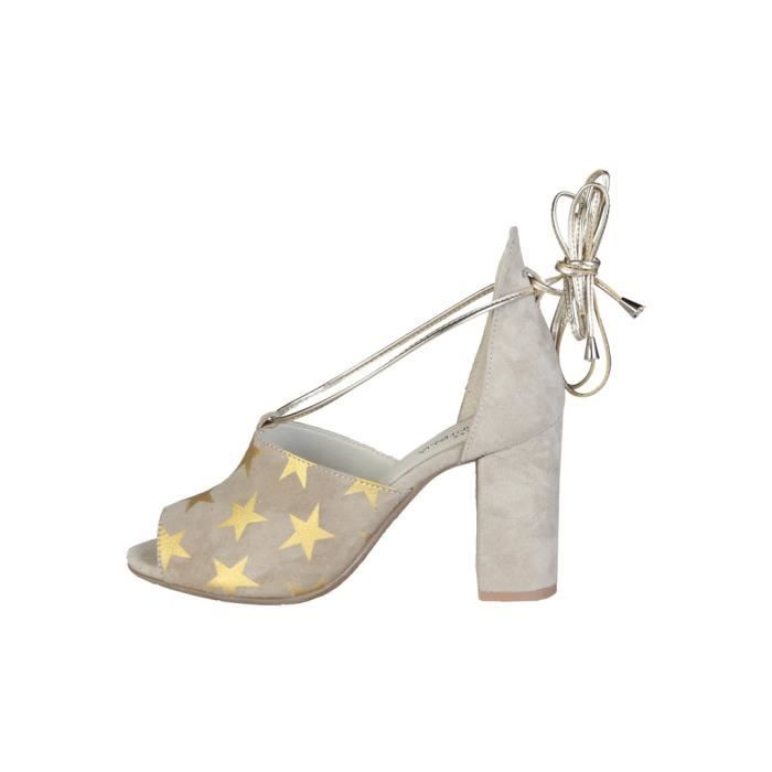 Made in Italia - Sandales pour femme (SIMONA_TAUPE) - Brun