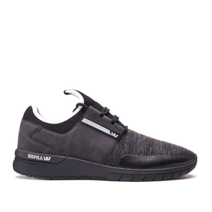 SUPRA RUN FLOW black multi Black Chaussures 1HxBndwSdq