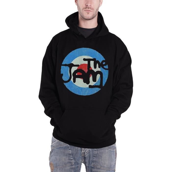 SWEATSHIRT The Jam Target Logo officiel Homme nouveau Noir Pu