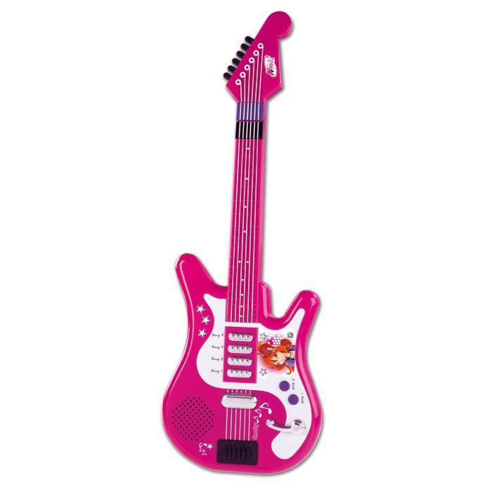 INSTRUMENT DE MUSIQUE Winx Guitare Electro